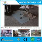 PVC中型のパイル・カーペットのための明確な長方形の椅子のマット