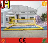 Het opblaasbare Gebied van het Volleyball van het Water van het Hof van het Volleyball Aqua Opblaasbare
