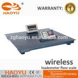 Skidproof acier de 5 mm Rétro-éclairage LED Plate-forme électronique Balance au sol