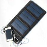 5V 5Wの電話のための太陽充満袋を折る携帯用電池バンク