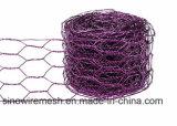 """1つの""""電流を通された六角形ワイヤー網または金網の網"""