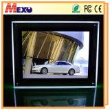Casella chiara di cristallo personalizzata del blocco per grafici LED della foto