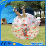 カスタマイズされたサイズの謝肉祭の泡サッカーボール