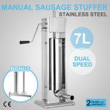 fabricante vertical do Salami do Stuffer do enchimento da salsicha 7L