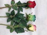 Decoração vermelha falsificada artificial Flores Artificiales da HOME do Hydrangea do casamento do arranjo de flor de Rosa