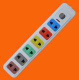 Zoccolo di estensione della presa di modo di Pin 6 dell'universale 2 (E1006S)