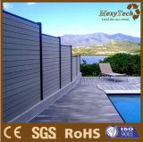 Cercado de madera compuesto al aire libre del aluminio WPC del jardín de la alta calidad
