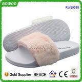 Glissade de confort de santal de glissière de femmes sur le poussoir de l'hiver (RW29595)