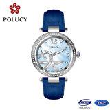 2016 petites montres de cadran de belles montres-bracelet pour le quartz de cuir véritable de femmes