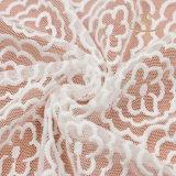 Tessuto del merletto di fabbricazione di Guangzhou per il reggiseno ed il vestito