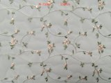 刺繍が付いている優雅の網のレースファブリック