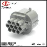 6181-0076 10의 Pin 남성 Sumitomo 회색 방수 자동 연결관