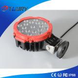 3W*17PCSクリー族LED作業ライト51W円形のドライビング・ライト