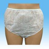 Cuecas descartável não tecida para o agregado familiar e o curso, roupa interior descartável com impressão