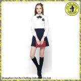 Chemises d'uniforme scolaire et jupes, modèle d'uniformes scolaires pour l'école d'Etat, uniforme scolaire formel de vente en gros