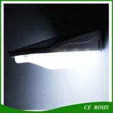 Iluminación al aire libre accionada solar de la batería 4400mAh 400lm I65 de las luces 38LED de la pared del jardín solar grande de la luz