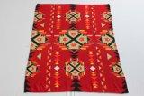 Projetos do cobertor 100%/nativo americano do velo do poliéster