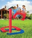 Лужайка напольной игры Toys вся потеха сезонов для семьи или содружественного комплекта подковы