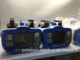 """Un Defibrillator dei 7 """" di colore dell'affissione a cristalli liquidi VEA della visualizzazione"""
