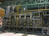 圧延製造所の暖房の炉