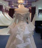 Bridal мантии Princess Длинн Втулки платье 2017 венчания