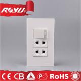 رخيصة سعر [220ف] عالميّة كهربائيّة جدار مفتاح مقبس تجويف