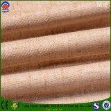 Flama do revestimento - tela de linho da cortina do poliéster cego retardador da fábrica Home de matéria têxtil