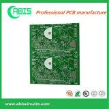 Доска PCB зеленого верхнего слоя маски припоя белого твердая