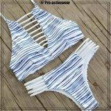 熱い販売の若い女の子の水着の競争の水着