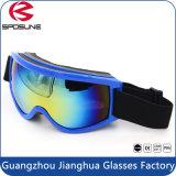 De veelkleurige Beschermende brillen van de Ski van de Bril van de Veiligheid van het Effect van de Lens van PC Anti