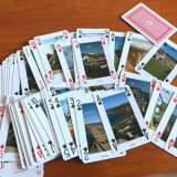 플라스틱 입히는 Playingcards 또는 고객 Designes Playingcards 또는 카지노 부지깽이