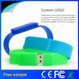 Vara personalizada da memória do USB do bracelete do USB Pendrive da faixa de pulso