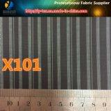 Tela teñida hilado más nuevo al por mayor de la ropa de la raya, ningún MOQ. (X101-103)