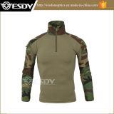 7つのカラー軍の軍隊の戦術的な戦闘のカムフラージュのTシャツ