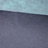 Cuero artificial tejido PVC de moda de la PU 2017 para los muebles