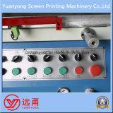 Impresora semi automática cilíndrica de la pantalla para el vidrio