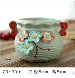 ホームDecoのための普及したOEMの陶磁器の庭の植木鉢