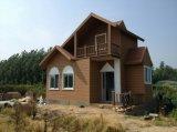 목제 곡물 Prefabricated 집 조립식 가옥 집