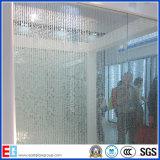 3-12mm指自由で明確な曇らされたガラスはかパターン酸ガラスか装飾的な芸術ガラスをエッチングした
