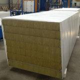 Pared y azotea del panel de emparedado de las lanas de roca del aislante termal