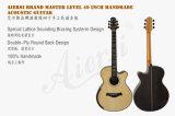 Tipo de Aiersi guitarra acústica do mestre da parte traseira redonda de 40 polegadas (SG103SB)