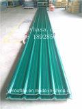 Tipo longo telhadura do modelo 1130 da vida da extensão da prova da água da resina, telha de telhado do PVC