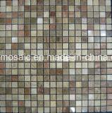 浴室の大理石のモザイク(FYSSC062)のための特別なデザイン石のモザイク