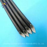 1200V de fibra de vidrio recubierto de resina de silicona manga para el Cableado Eléctrico
