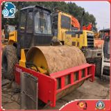 Yellow_Red_Paint Electric_Drive 12ton_Vibration_Drum Cummins_Engine Dynapac Ca251d 진동 도로 롤러
