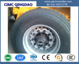 de 12.5m 3axles 40FT do leito Cimc reboque do caminhão Semi