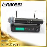 Micrófono de la radio de la frecuencia ultraelevada de la calidad Slx4 de Hight
