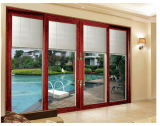 Portas deslizantes de vidro/portas que deslizam a porta do chuveiro