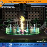 Al aire libre del acero inoxidable de música de la piscina estilo clásico de la fuente