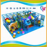 Campo de jogos macio interno pequeno do tema do oceano para o centro do jogo dos miúdos (A-15350)